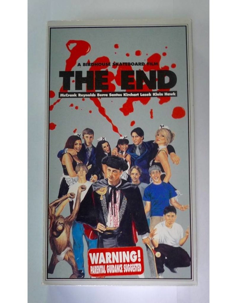 Birdhouse The End (1998) VHS - USED