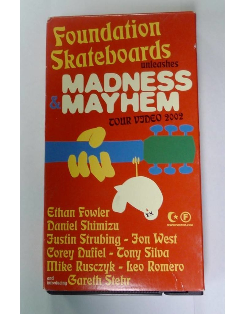 Foundation Madness & Mayhem (2002) VHS - USED