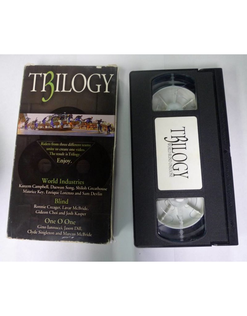 Blind/World Industries/101 Trilogy (1996) VHS - USED