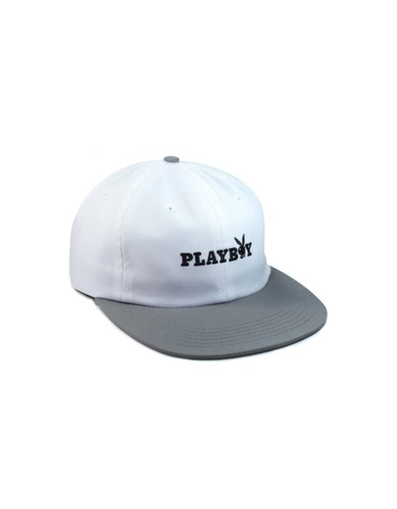 Good Worth & Co. Good Worth & Co. x Playby Bunny Text Hat - Silver