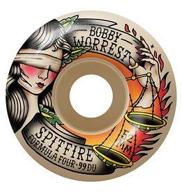 Spitfire Spitfire Formula Four Worrest Blind Justice Radials 54mm 99d wheels (set of 4)