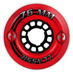Kryptonics Kryptonics Classic K Red 76mm Wheels  (Set of 4)