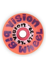 Vision Vision Big Wheel 67mm 97a Pink Wheels (Set of 4)