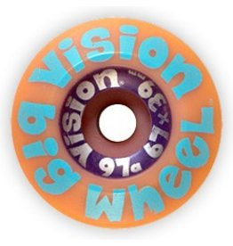 Vision Vision Big Wheel 67mm 97a Purple Wheels (Set of 4)