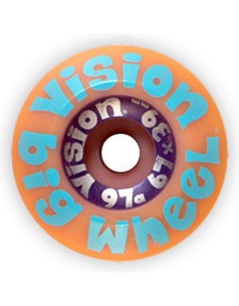 Vision Vision Big Wheel 67mm 97a Purple Wheels (Set of 4)