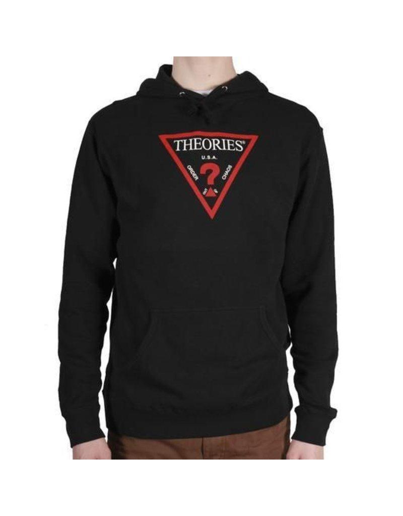 Theories Brand Theories Mysyterian Hoodie - Black