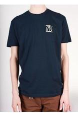 Theories Brand Theories Crest T-shirt - Midnight Navy/Cream