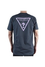 Theories Brand Theories Mysterian T-shirt - Indigo/Lavender (Large)