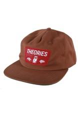 Theories Brand Theories Moluch Cotton Twill Hat - Cinnamon