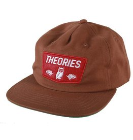 Theories Brand Theories Moluch Cotton Twill Hat - Cinnamon