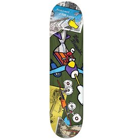 Krooked Krooked Drehobl Tore Up Deck - 8.38