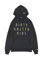 DGK DGK Judgement Pullover Hoodie - Black (Large)