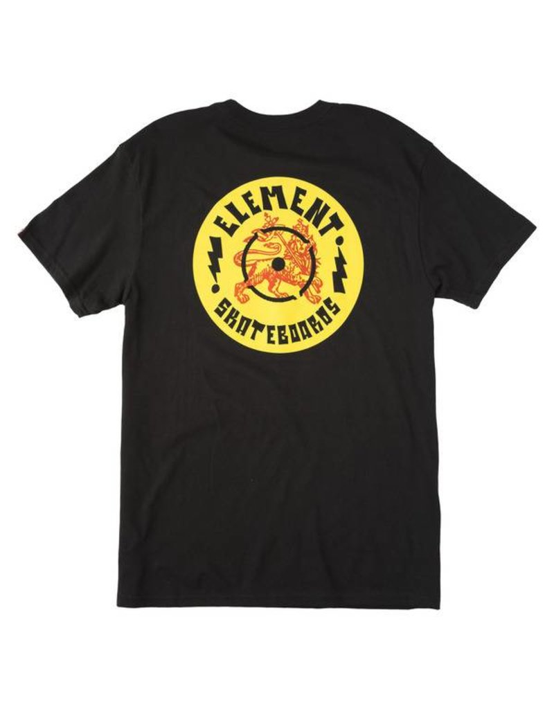 Element Element Vinyl T-shirt - Black