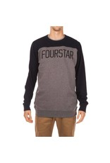 Fourstar Fourstar Football Crew - Midnight  (Large)