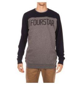 Fourstar Fourstar Football Crew - Midnight  (X-Large)