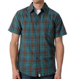 Altamont Altamont Slam s/s Woven - Brown (Small)