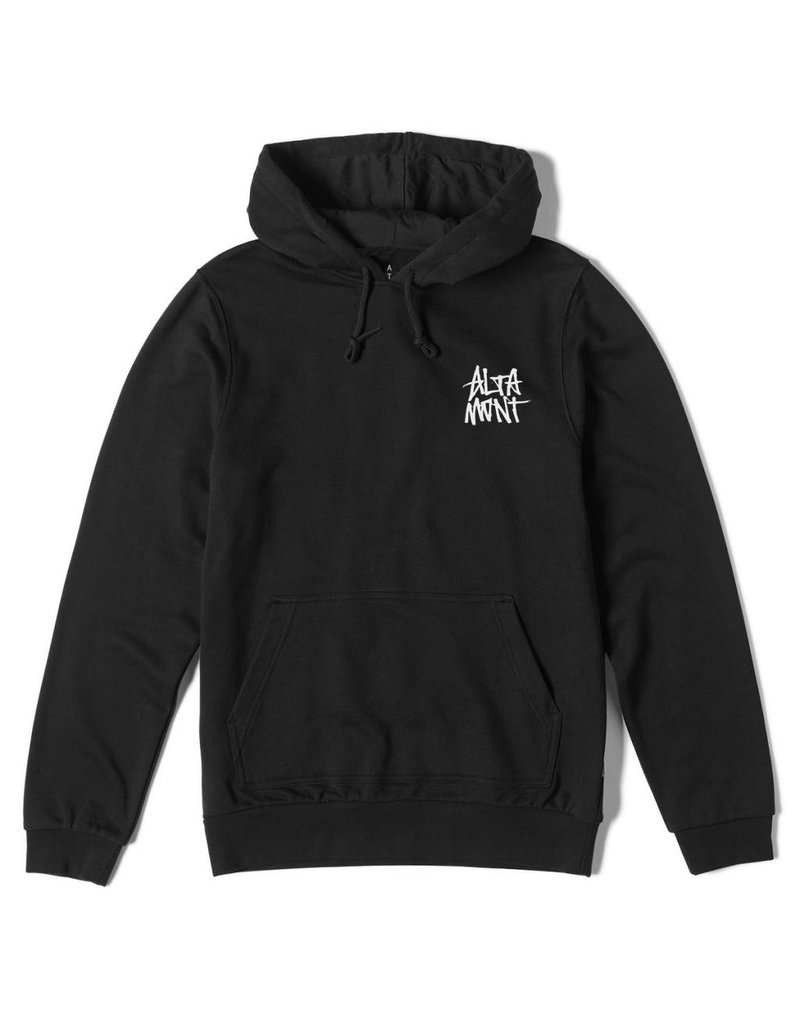 Altamont Altamont Mini Stack Hoodie - Black (X-Large)