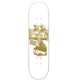 Politic Politic Team Native White Deck - 8.12
