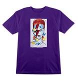 Prime Prime Gonz x Jason Lee Bowie T-shirt - Purple (Large)