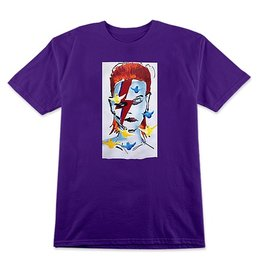 Prime Prime Gonz x Jason Lee Bowie T-shirt - Purple (Medium)