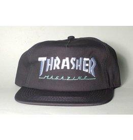 Thrasher Mag Thrasher Mag Logo two-tone Hat - Grey