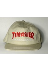 Thrasher Mag Thrasher Mag Logo two-tone Hat - Tan