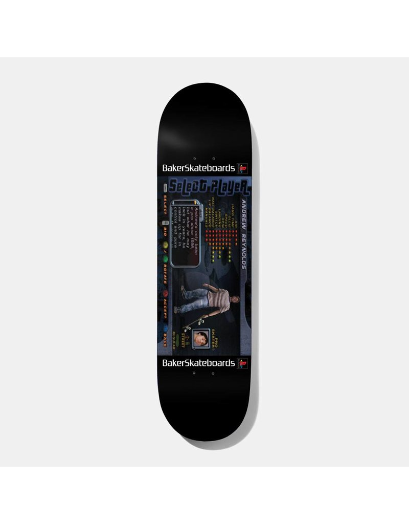 Baker Baker AR Player Select Deck - 8.25