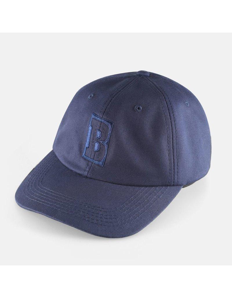 Baker Baker Capitol B Snapback Hat - Navy