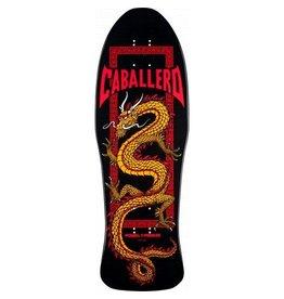 Powell Powell Peralta Bones Brigade Caballero Black Re-Issue Deck - 9.95 x 29.76
