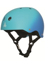 Triple 8 Triple 8 Brainsaver Helmet - Blue Fade