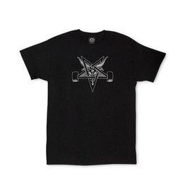 Thrasher Mag Thrasher Skate goat Blackout T-shirt