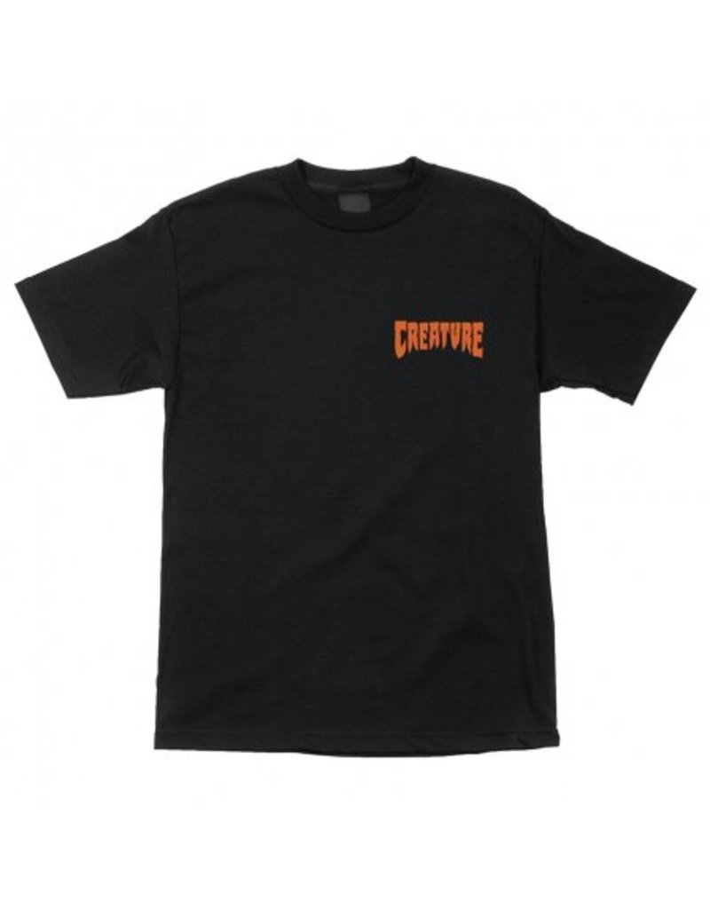 Creature Creature Viscerous T-shirt - Black
