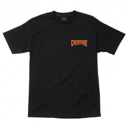Creature Creature Viscerous T-shirt - Black