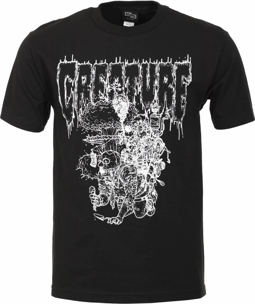 Creature Creature Apocalypse Vision T-shirt - Black