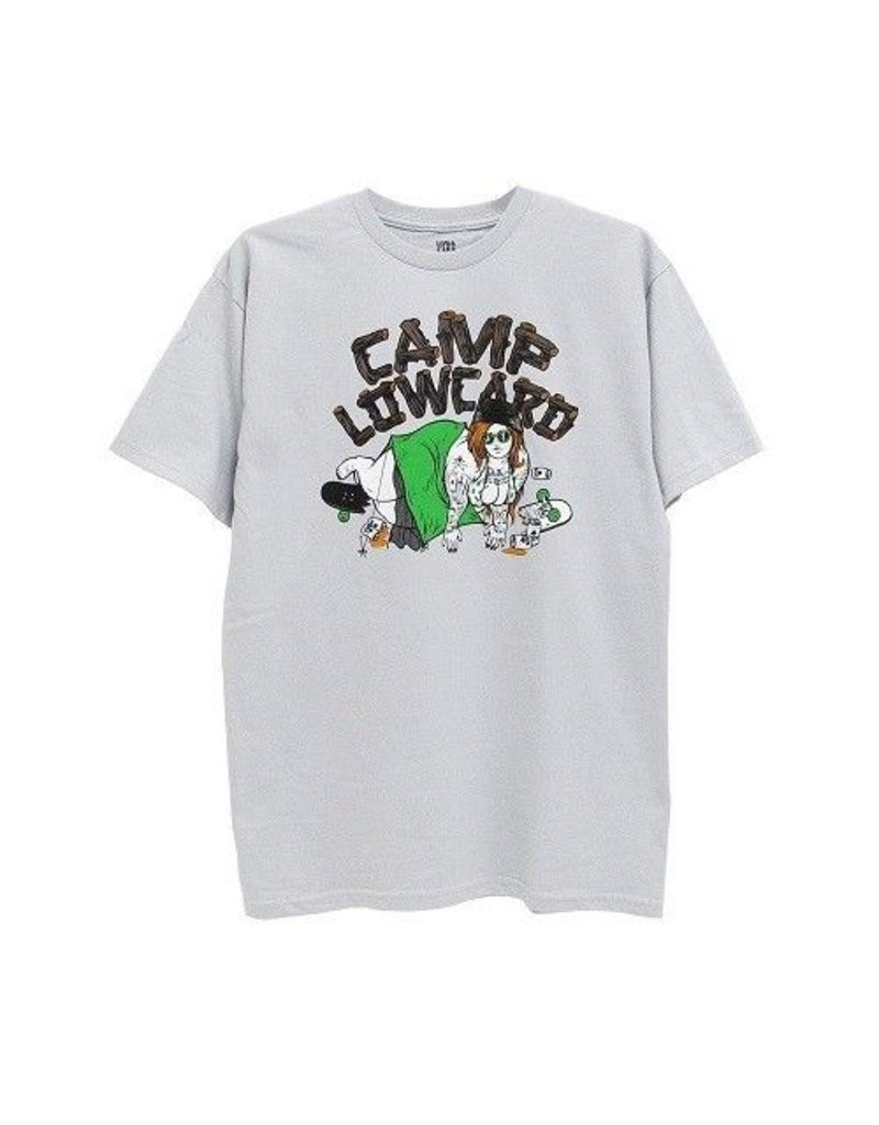 Lowcard Lowcard Camp Blow Out T-shirt (Todd Bratrud) - Light Grey (X-Large)