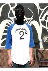 Lowcard Lowcard Baseball T-shirt - White/Blue