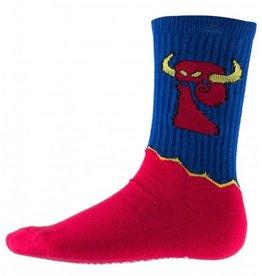 Psockadelic Psockadelic x Toy Machine Monster Red/Blue Socks