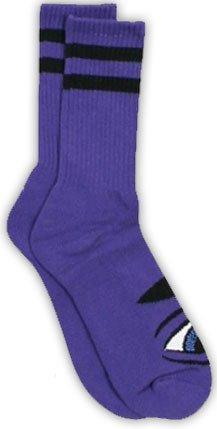 Toy Machine Toy Machine Sect Eye III Purple Socks