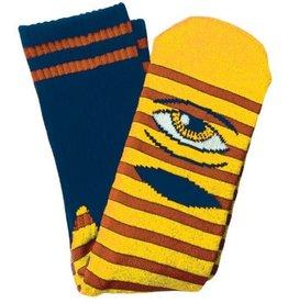 Toy Machine Toy Machine Sect Eye Stripe Yellow/Navy Socks