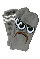 Toy Machine Toy Machine Turtle Boy Stache Grey Socks