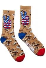 Psockadelic Psockadelic Peace Desert Camo Socks