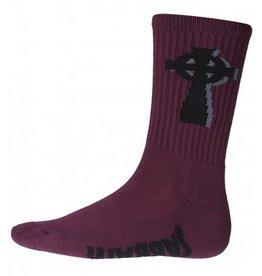 Psockadelic Psockadelic Sabbath 2 Purple/Black Socks