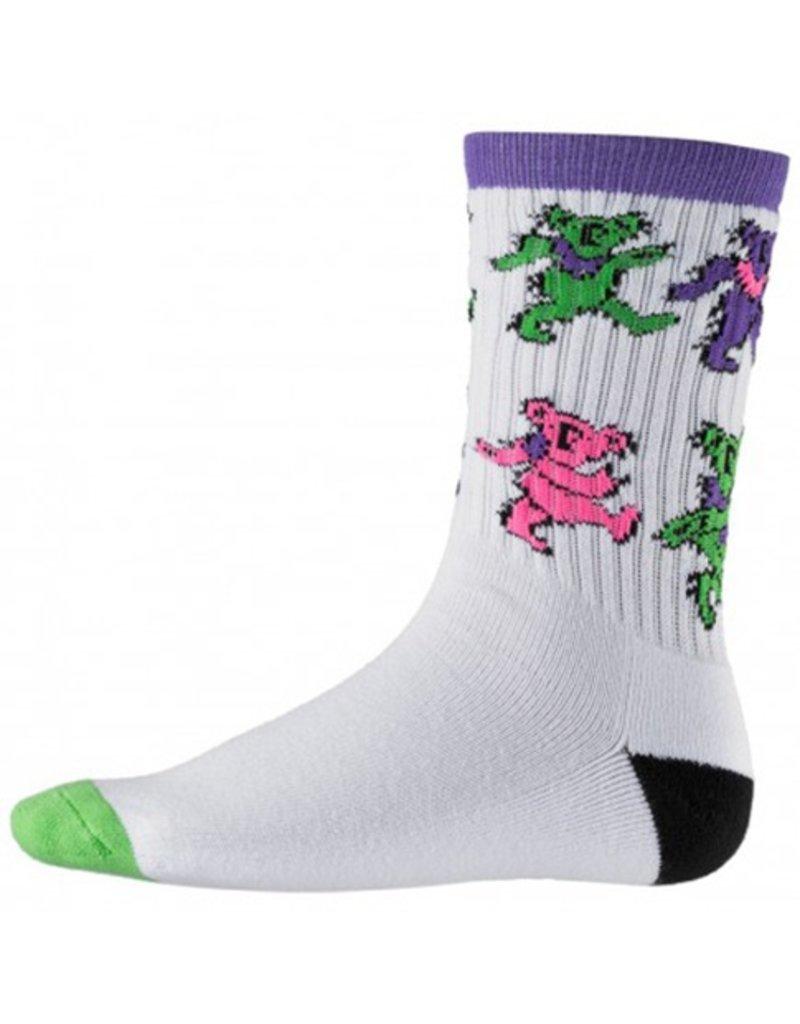 Psockadelic Psockadelic Stroll White/Purple Socks
