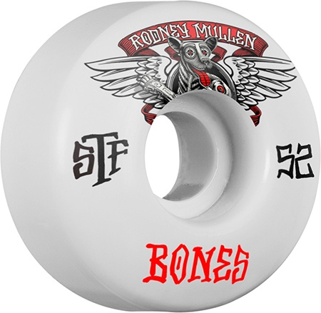 Bones Wheels Bones STF v1 Mullen WInged Mutt 52mm Wheels (set of 4)