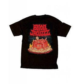 Skate Mental Skate Mental Blood Jacuzzi T-shirt - Black (Medium)