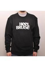 Heel Bruise Classic Logo Crew - Black