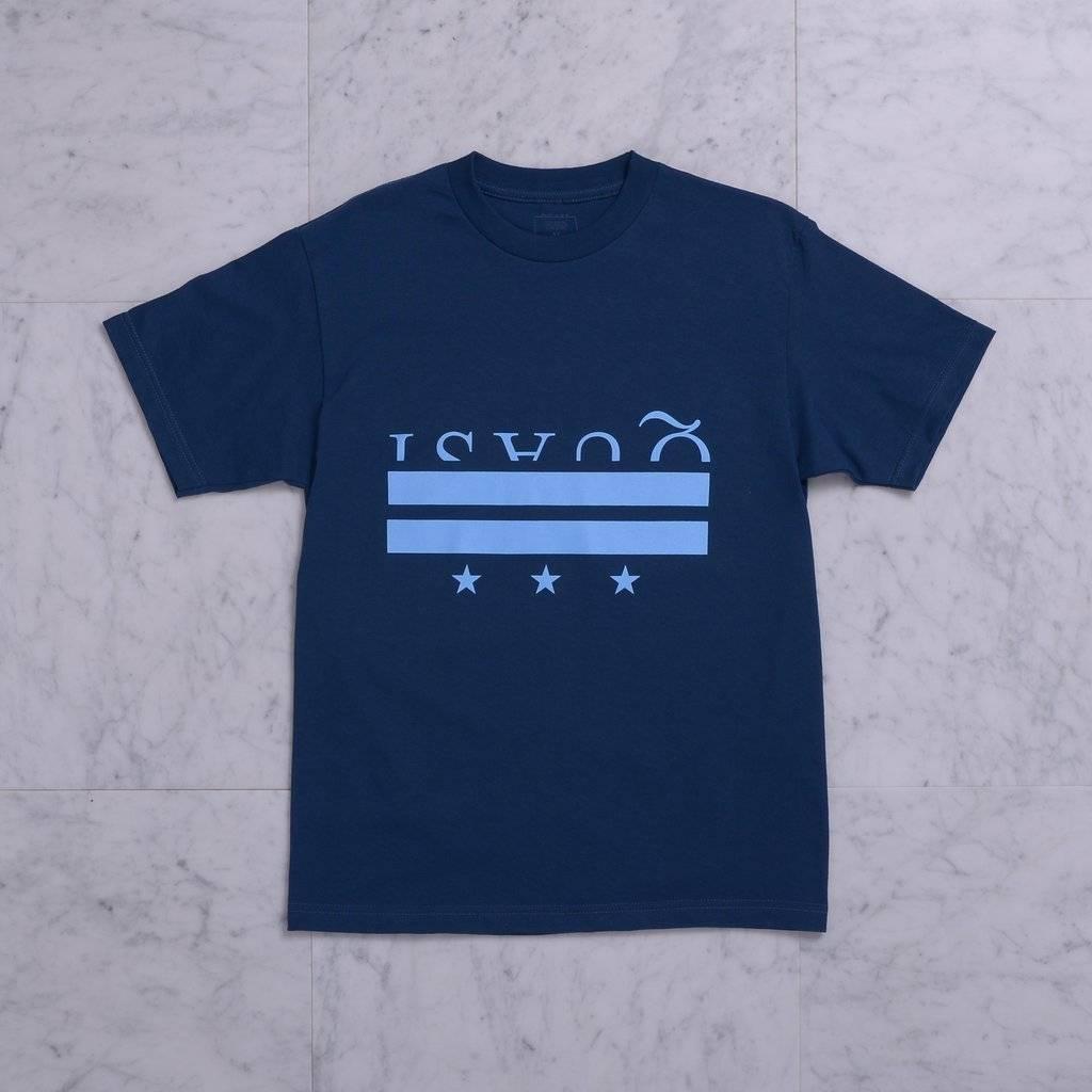 Quasi Quasi District T-shirt - Blue (size Medium)