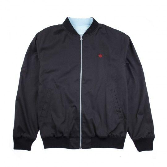 Magenta Magenta Two Face Reversible Jacket - Black/Light Blue  (Large)