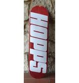 Hopps Hopps BIG HOPPS White/Red Deck - 8.125