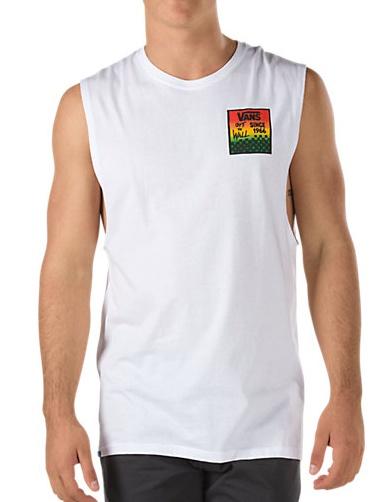 Vans Vans Checker Sqaure Chopper T-shirt - White